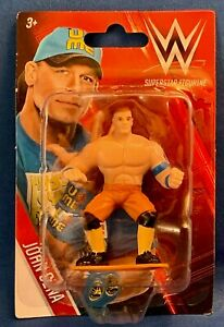 "JOHN CENA Superstar Figurine, WWE, 3"", Nice Detail, NIB"