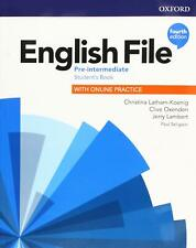More details for oxford english file pre-intermediate student's book 4th edit 9780194037419 new
