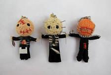 3 Doll Horror Hellraiser Cenobite Set Pinhead Bubbleball Chatterer Voodoo String