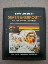 Super Breakout (Atari 2600, 1981) Video Game Cartridge Only Tested Work Perfect