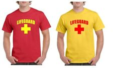 Lifeguard T-SHIRT fancy dress party costume beach life saver funny life guard
