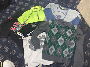 Boys Bundle 8/9 Years Angry Birds Jumper And 3 T Shirts Next San Francisco x5