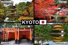 SOUVENIR FRIDGE MAGNET of KYOTO JAPAN