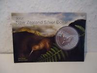 !!!Neuseeland Kiwi - 2007 - Silber $1 Im Blister Munzen- 1 OZ Kiwi  RAR