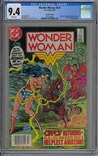 Wonder Woman #313 CGC 9.4 NM Wp DC Comics 1984 Huntress Canadian Price Variant