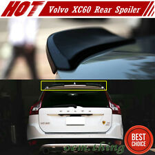 Carbon Fiber For VOLVO XC60 5DR Rear Trunk Boot Spoiler 2 Piece 2017 T6