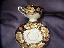 ROYAL ALBERT BONE CHINA  CUP AND SAUCER    DERBY PATTERN