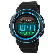 Herren Armbanduhr LED Digitaluhr Silikon Uhr Herren Kinder Sportuhr Watch Uhren