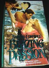 Blazing Passion by Barbara Cummings 1st Printing Dec 1991 Paperback