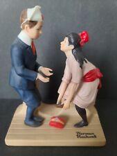 Norman Rockwell ~ First Dance ~ Figurine Danbury Mint 1980