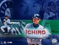 "ICHIRO SUZUKI ""Seattle Mariners"" LICENSED picture poster un-signed 8x10 photo"