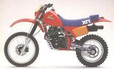 """Honda 1983 XR500R fuel tank wings 6"""" x 3 3/4"""" 153mm x 95mm Vintage enduro XR 500"""