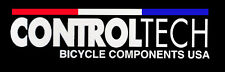"3 CONTROLTECH STICKERS 2 1/2"" x 10""  Bicycle Bumper Decal Road Mountain Bike Bar"