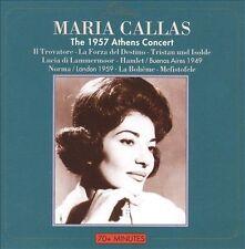 MARIA CALLAS - The 1957 Athens Concert (CD, May-2013, Gala Records)