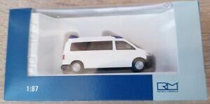Rietze 51871 - 1/87 Ambulance Mobile Hornis M `03 Blanc - Neuf