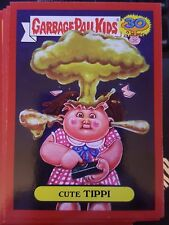 Garbage Pail Kids 2015 Series 2 30th 4a Cute Tippi RED Push Button NrMt-Mint