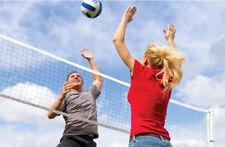 Sand Volleyball Net Outdoor Professional Sport Sun Beach Heavy Duty Pro Set 32