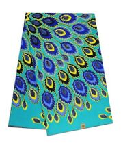 W85 AFRICAN WAX PRINT ANKARA FABRIC SPECIAL PRICE £18.98 (6 Yards)