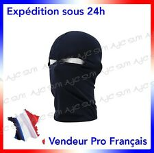 CAGOULE 2 TROUS NOIRE   POLICE_AIRSOFT_PAINTBALL_SWAT_RAID_GIGN_FORCES SPECIALES