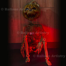 "36"" festa di Halloween Horror Crazy Bones Appeso Pumpkin Patch Scheletro Decorazione"