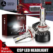 Fit 1996-2015 Freightliner Columbia 12000LM 6000K 9006 CSO LED Headlight Bulb