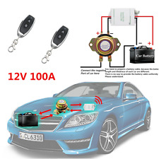 12V Remote Control Kill Battery Switch Cut Off Power Master Kill For Car Truck