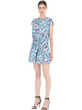New Viktor & Rolf Multicolour Floral Printed Jacquard Dress