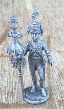 54 mm Tin Miniature sculpture rance bell orchestra Dutch Grenadiers 1809 year