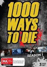 1000 Ways To Die : Season 1 (DVD, 2013, 3-Disc Set) BRAND NEW SEALED