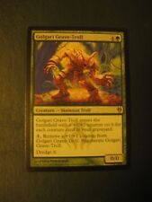 Golgari Grave-Troll, Dredge, Duel Deck Rare, LP, Magic, Legacy Vintage
