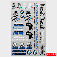 Kit adesivi vari BMW R1200GS Adventure scritte r1200 gs tuareg dakar africa M.2