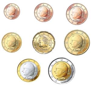 ****BELGIO BELGIUM BELGIQUE 1 CENT-2 EURO/2 EURO COMM. 1999-2019  AGG.MARZO 2021