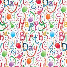 Caspari Gift Wrap Sheets, Happy Birthday (8823RF)
