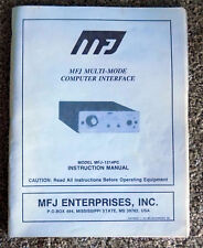 1991 MFJ-1214PC Multi-Mode Computer Interface Instruction Manual Free Shipping