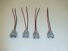 4 new fuel injector wiring pigtails for Bosch 210lb 2200cc , ID2000 , FIC2150