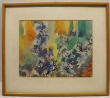 Peintures du XXe siècle et contemporaines gouaches encadrés nature morte