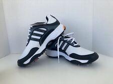 (New) Adidas Black/White Soft Spike Golf Shoes (Size Kids 5)