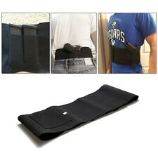 Elastic Band Waist Gun Holster With Double Magazine Pouches Gun Hunting Bag Belt