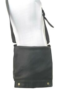 Bally Switzerland men's bag, large, pebble leather, black