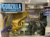 JAKKS Pacific Godzilla King of The Monsters & King Ghidorah Toy Figure Set