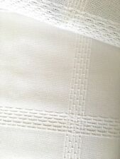 White14 count Zweigart Palisade Cloth Afghan fabric full panel 168 x 102 cm