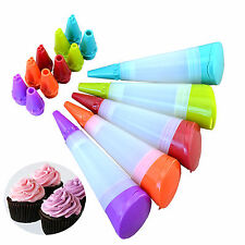 WOW Icing Piping Bag Russian Nozzle Converter Coupler Cake Cream Decor Tool