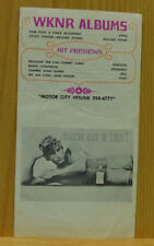 WKNR Detroit Music Guide Rock N Roll Week of June 7 1971 Rolling Stones Seatrain