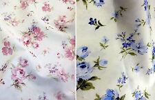 Telas y tejidos florales color principal multicolor para costura y mercería