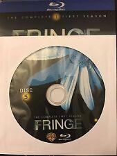 Fringe - Season 1 BLU-RAY, Disc 5 REPLACEMENT DISC (not full season)