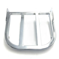 Silver Motorcycle Chrome Sissy Bar Luggage Rack For Suzuki Marauder VZ800 97-07