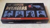 The Avengers First Ever Episodes Briefcase Box Set UK VHS VIDEO 3-Tape Set 1995