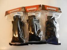 Blackhawk Single Pistol Mag Pouch;  Black;  3 Total; Talon Flex Molle;  37CL08BK