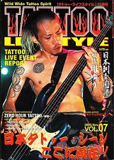 World Wide Tattoo Spirit Tattoo Lifestyle November 2005 Vol 7 Japan Japanese