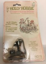 Vintage HOLLY HOBBIE Miniature Die Cast Metal WATER PUMP No .15